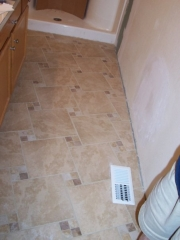 2011 Bathroom Tile Install