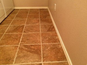 2013 Multi-room Tile Install