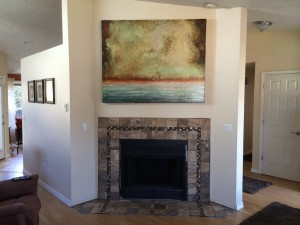 2014 Fireplace Tile Surround
