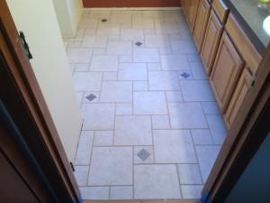 2014 Master Bath Hopscotch Tile Install